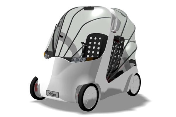 Elektro-Stadtauto Shán
