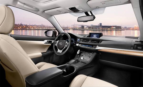 Lexus CT 200h Innenraum