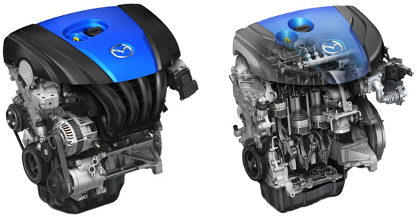 Mazda SKYACTIV Motoren mit Rekord-Verdichtung