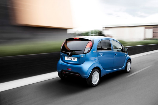 Peugeot iOn Elektroauto