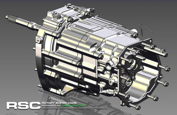RSC 8-Gang Getriebe