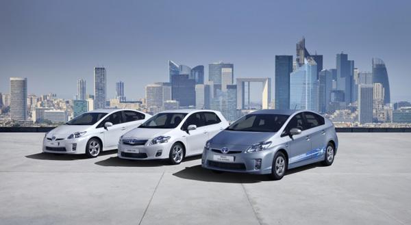 Toyota Hybridfahrzeuge