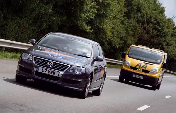 Weltrekord: VW Passat BlueMotion fährt mit einer Tankfüllung 2.463 Kilometer