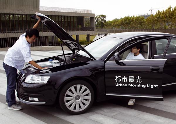 Entwicklung des Audi A6 Langversion mit Elektroantrieb in China