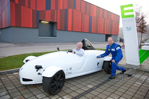 e-Wolf e1 beim New Mobility Forum 2010