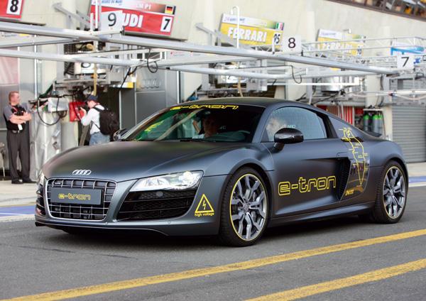 Elektroauto Audi R8 e-tron