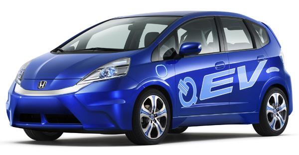 Elektroauto Honda Fit EV