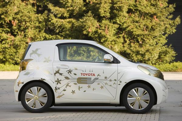 Elektroauto Toyota FT-EV