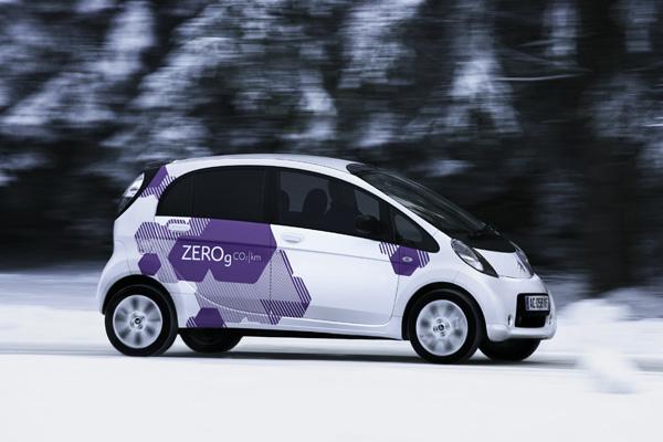Elektroauto Citroën C-Zero