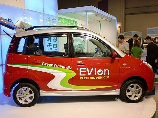 Eco Expo Asia 2010 - Elektroauto EVion