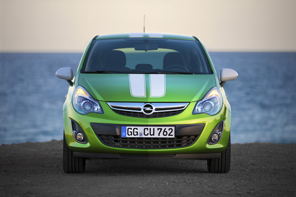 Neuer Opel Corsa Color Stripes