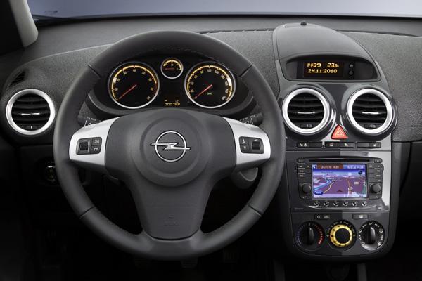 Neuer Opel Corsa Innen
