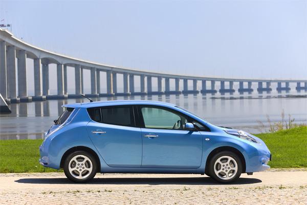 Nissan LEAF gewinnt Motorenpreis