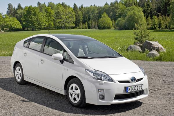 Toyota Prius mit Hybridantrieb