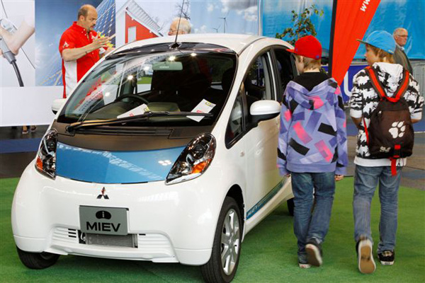electric avenue - Mitsubishi iMiEV
