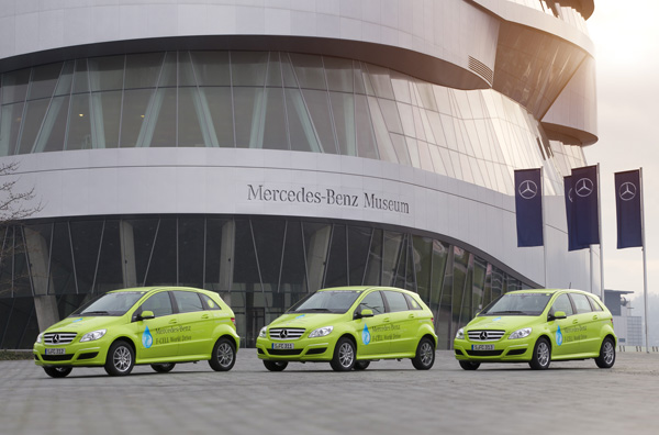 Mercedes-Benz F-CELL World Drive - Die Fahrzeuge