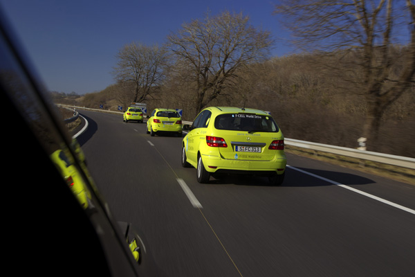 Mercedes-Benz F-CELL World Drive