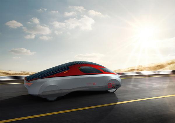 Solarauto BO Gran Turismo der Hochschule Bochum