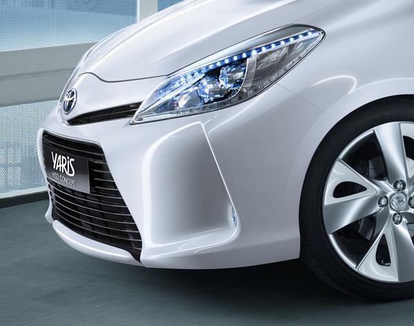 Toyota Yaris Hybrid Concept - Detail