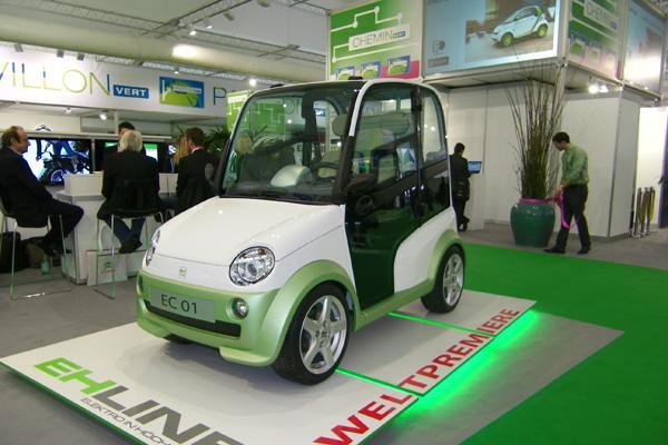Autosalon 2011 - EHLINE EC 01