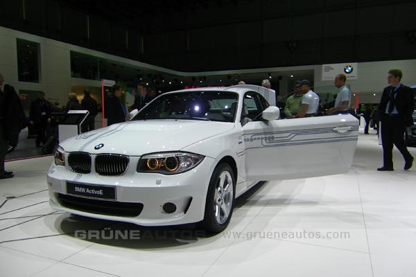 Autosalon 2011 - Elektroauto BMW ActiveE