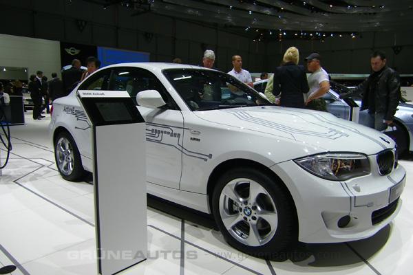 Autosalon 2011 - BMW Elektroauto ActiveE