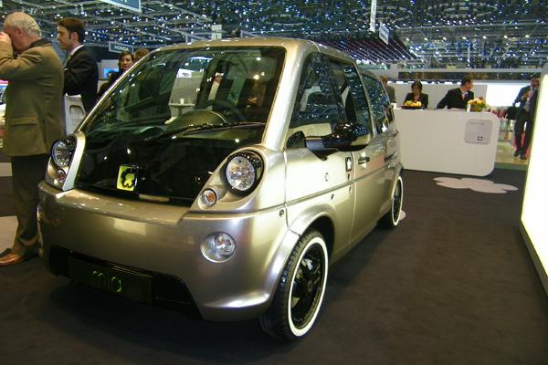 Autosalon 2011 - mia Elektroauto