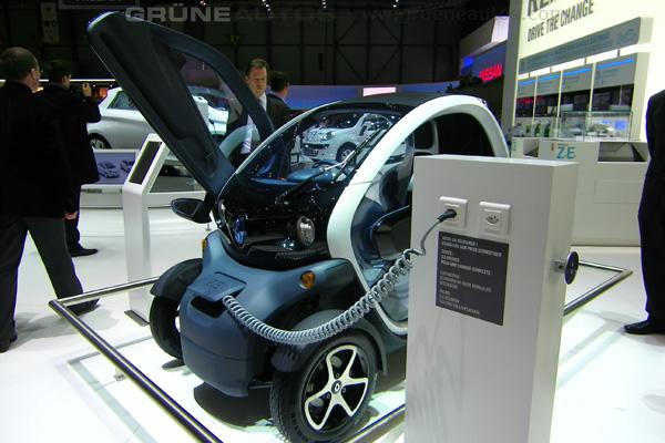 Autosalon 2011 - Renault Twizy