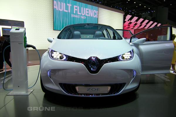 Autosalon 2011 - Renault Zoe