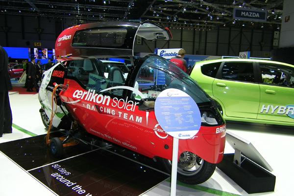 Autosalon 2011 - zerotracer Elektrofahrzeug