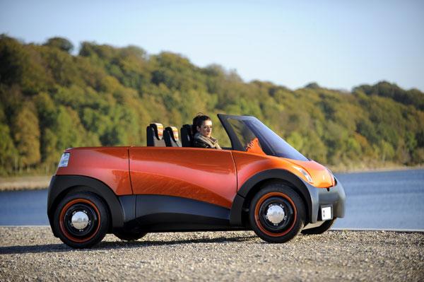 ECOmove QBEAK Cabrio Elektroauto