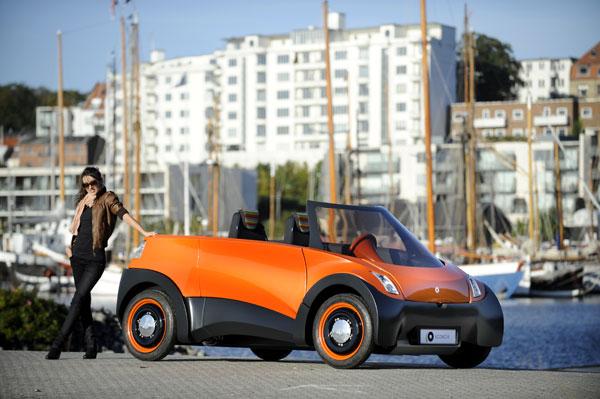 ECOmove QBEAK Elektroauto