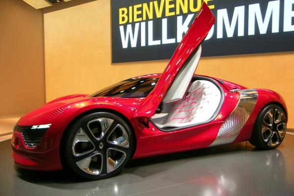 Elektroauto Renault DeZir