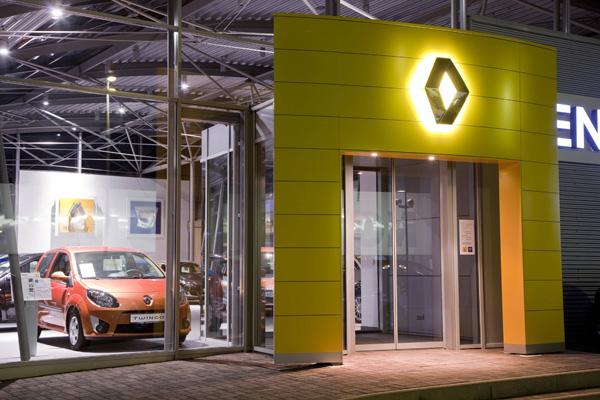 Servicestationen für Renault Elektrofahrzeuge