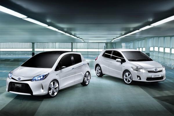 Toyota Yaris Hybrid und Auris Hybrid