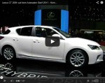 Video: Lexus CT 200h auf dem Genfer Autosalon 2011