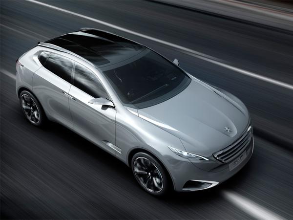 Peugeot SxC Crossover-Studie mit besonders effizientem HYbrid4-Antrieb
