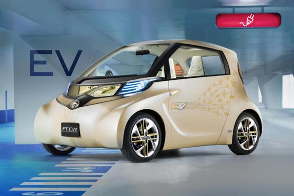 Elektroauto Toyota FT-EV II