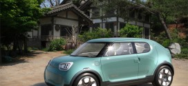 Kia Naimo: CUV-Studie mit Elektroantrieb