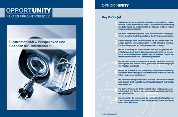 Fakten für Entscheider - Perspektiven und Chancen der Elektromobilität