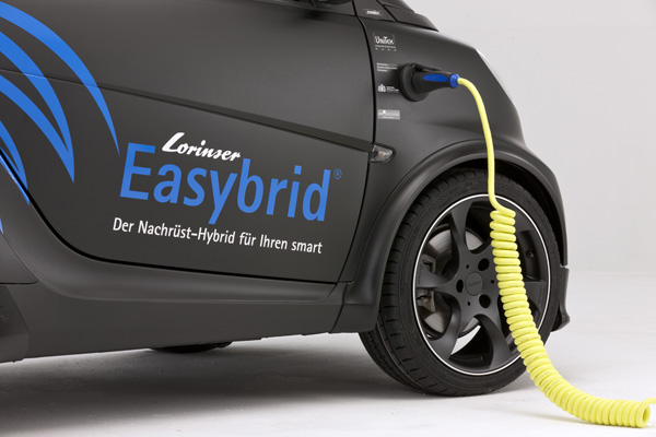 Smart Fortwo mit Lorinser Easybrid - Aufladen