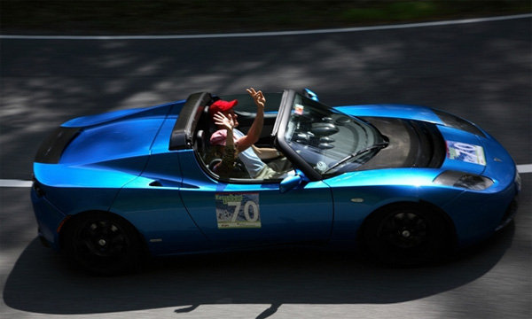 Meilenstein: Tesla Roadster fährt mehr als 100.000 km