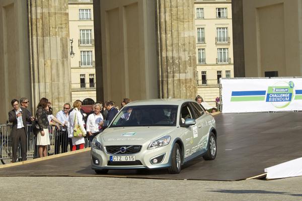 Volvo C30 Electric bei der Michelin Challenge Bibendum