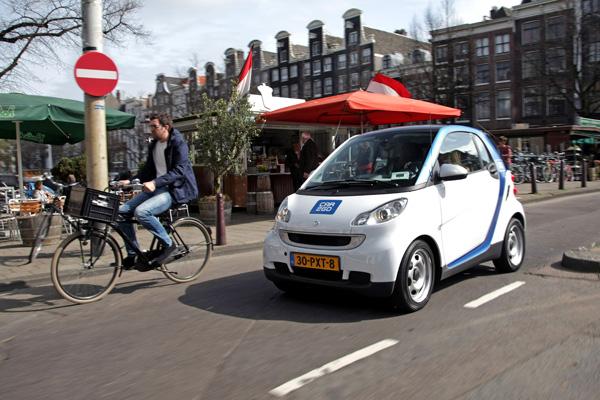 car2go smart im Einsatz