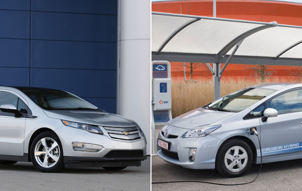 Chevrolet Volt vs. Toyota Prius Plug-In
