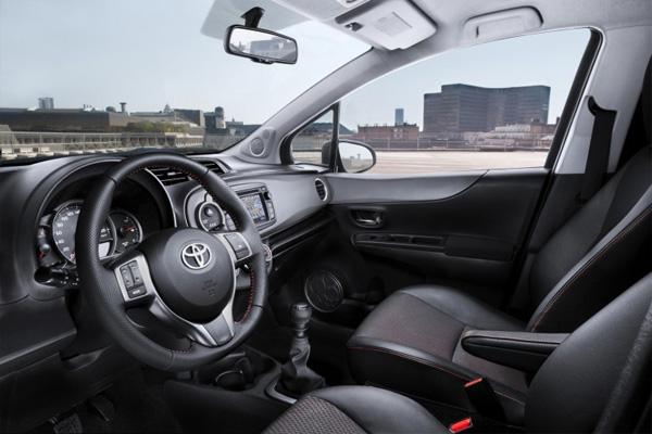 Neuer Toyota Yaris - Innenraum