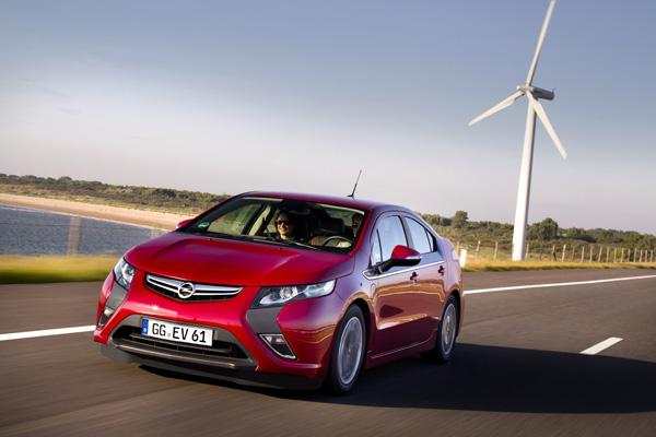 Opel Ampera mit Ökostrom fahren