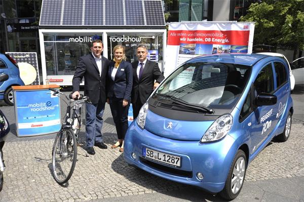 Peugeot E-Mobility-Tour