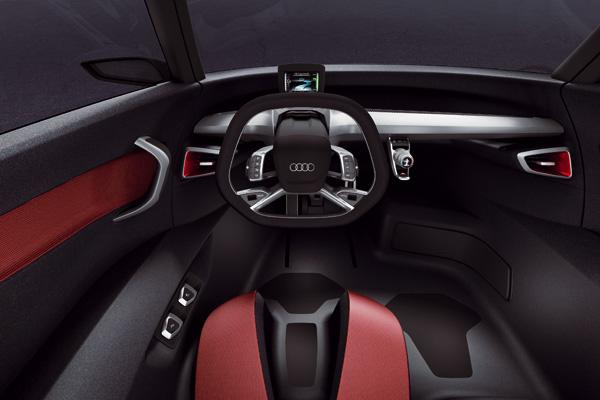 Audi Urban Concept - Cockpit