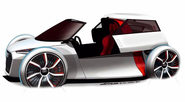 Audi Urban Concept Offen - Skizze